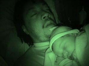Aria & Antonio Sleeping